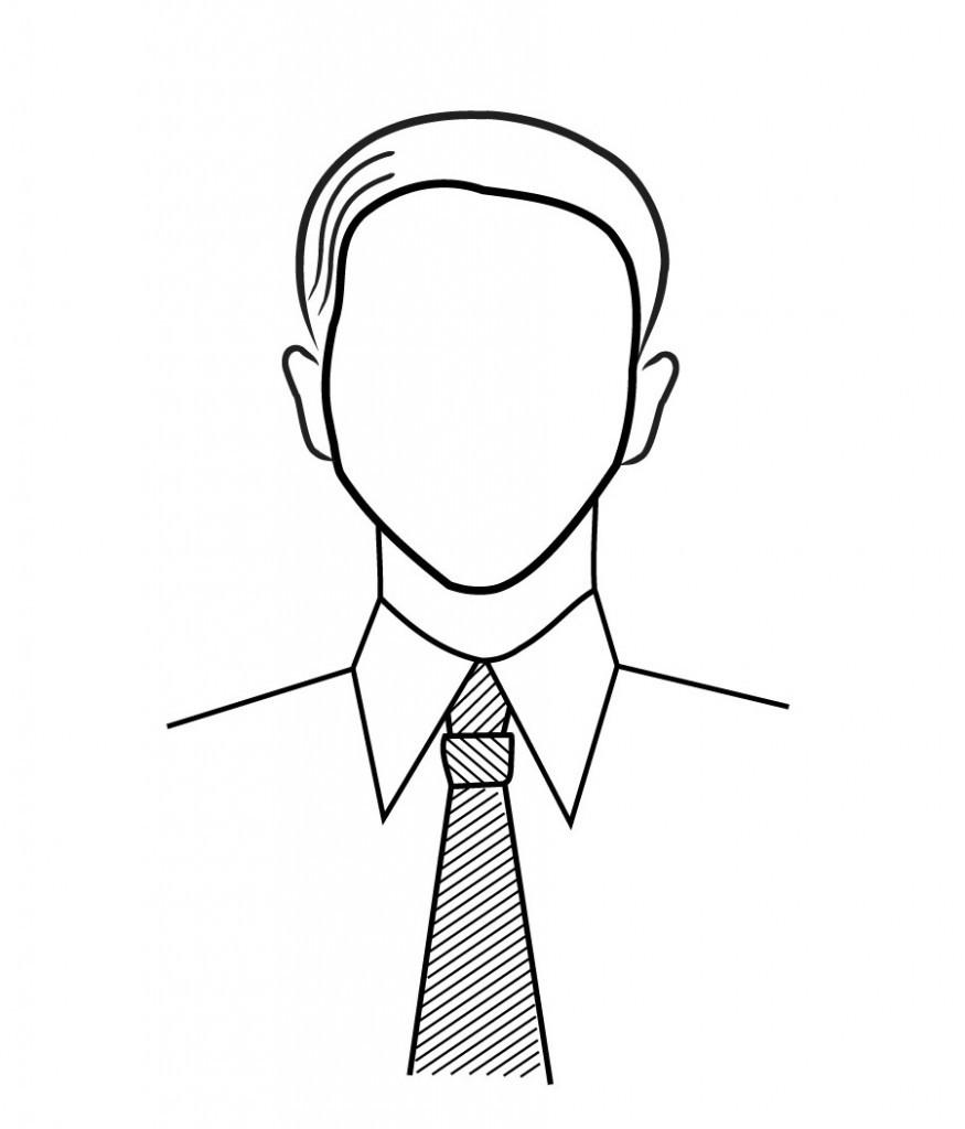 SPRÁVNĚ: Široká hlava, úzký límec.
