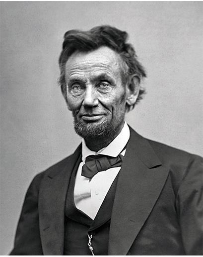 Správňák Abe vypadal skvěle předtím, než se v Bílém domě roztrhl pytel s odznáčky s vlajkou a přehazovačkami na hlavě.