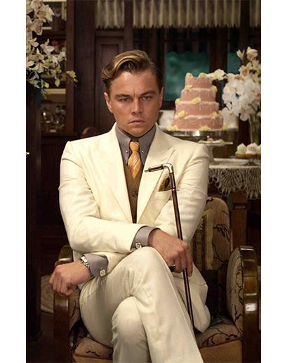 Jako fiktivní postava oplývající výrazně naditou peněženkou byl Gatsby dokonalou ilustrací okázalosti a svébytného módního stylu okolo roku 1920.