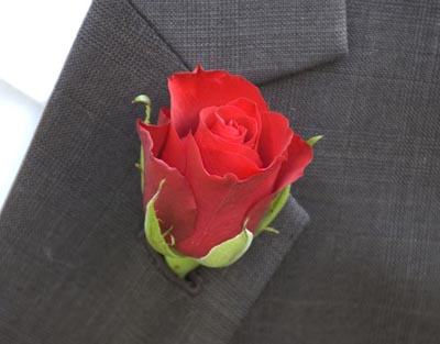 Rose_boutonniere