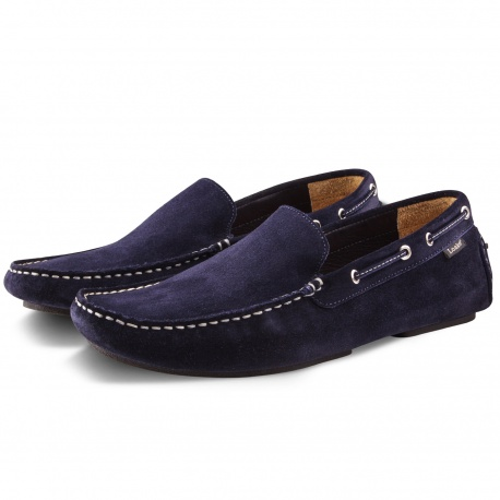 Loake Donnonington Navy Suede