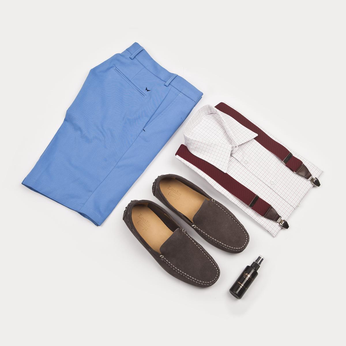 ee5ca159b250 Pohodlné semišové mokasíny. Nosí se v létě a na bosou nohu.