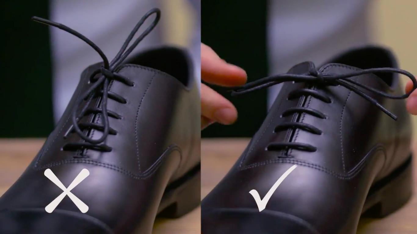 Jak správně vázat boty  – Muži v Česku 2a146e6f93