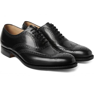CHURCH'S Berlin Leather Wingtip Brogues,