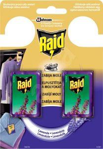 Odpuzovač molů Raid