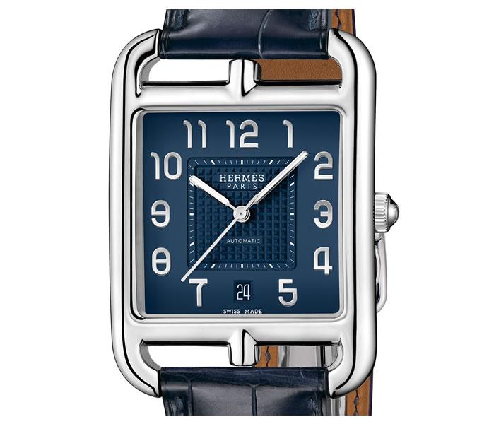 Hermès Cape Cod TGM Manufacture - Jedna z nejluxusnějších značek na světě představila Art Deco design a hluboký odstín petrolejové modré.