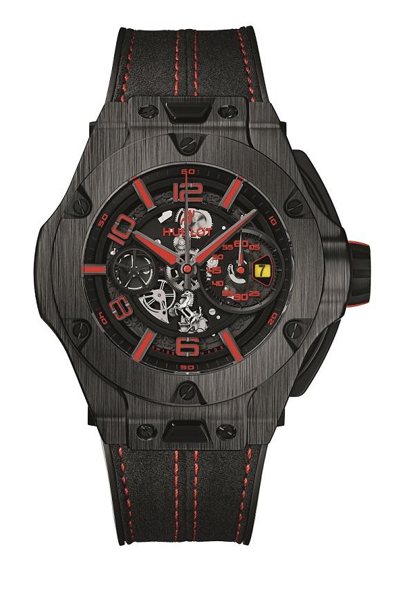 Big Bang Ferrari Chronograph Unico v karbonovém provedení. K dostání je pouze 500 kusů.