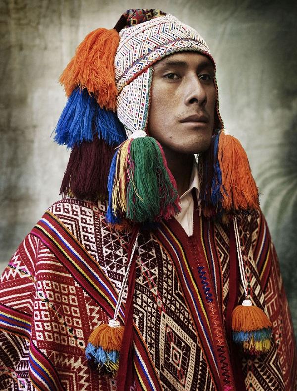Muž kmene Chahuaytire, Cusco