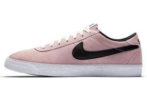 Sneakers z prachově růžového semiše, Nike SB Bruin