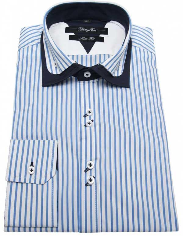 Když byla tato košile šita, všichni na Savile Row cítili nerovnováhu v síle.