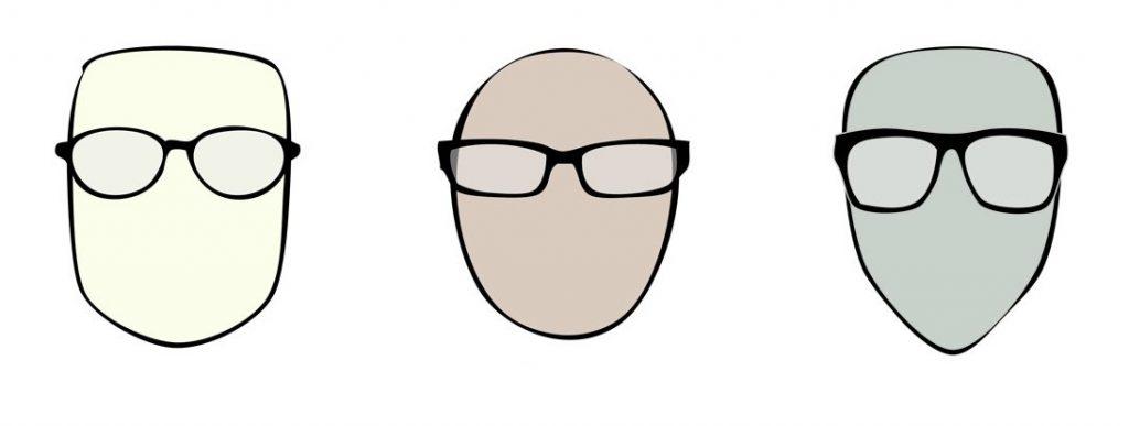 Hranatý obličej bude nejlépe vypadat s kulatými a oblými brýlemi.
