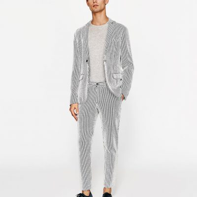 Oblek s leskem, Zara