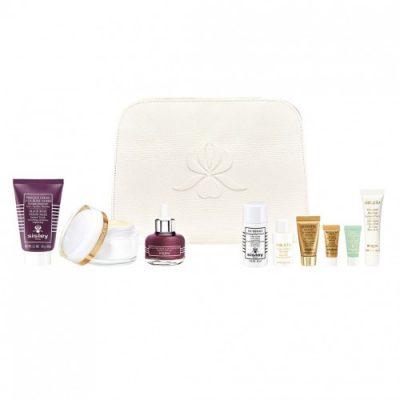 Set luxusních Anti-Ageing produktů Vanity Kit od Sisley, prodává Fann parfumerie.