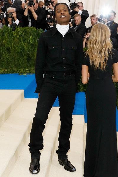 A$AP Rocky oblékl Calvin Klein 205W39NYC od Rafa Simonse.