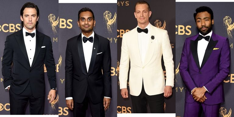 Nejlépe oblečení muži na předávání Emmy 2017 – Muži v Česku 610c470afb