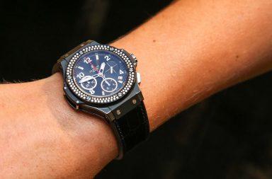 Značka Hublot nandala ambasadorské hodinky na zlatou pravačku Karolíny  Plíškové a0d1eaaebd0