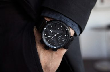 Louis Vuitton All Black Chronograph – Batmobil pro zápěstí 5e4f3c04051