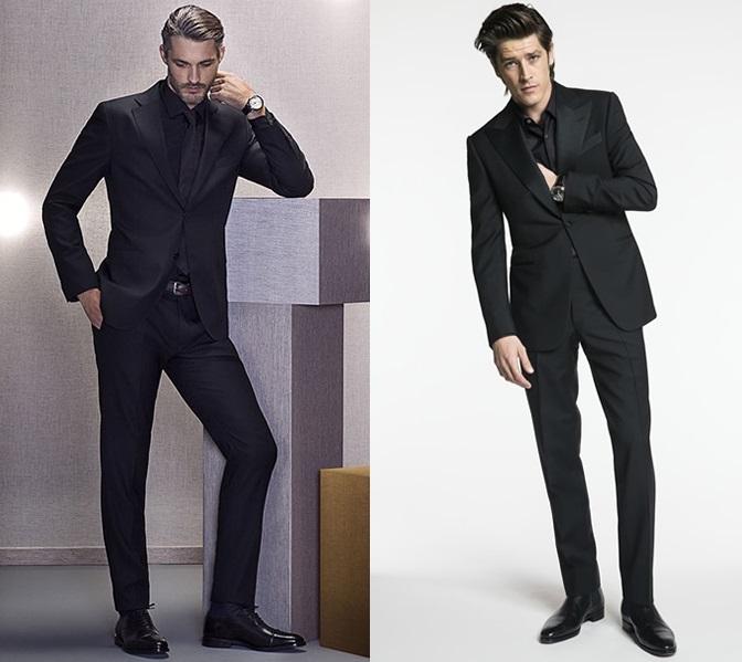 aba9c7f1aa5 Jak nosit černý oblek každý den (nejen na svatby a pohřby) – Muži v ...