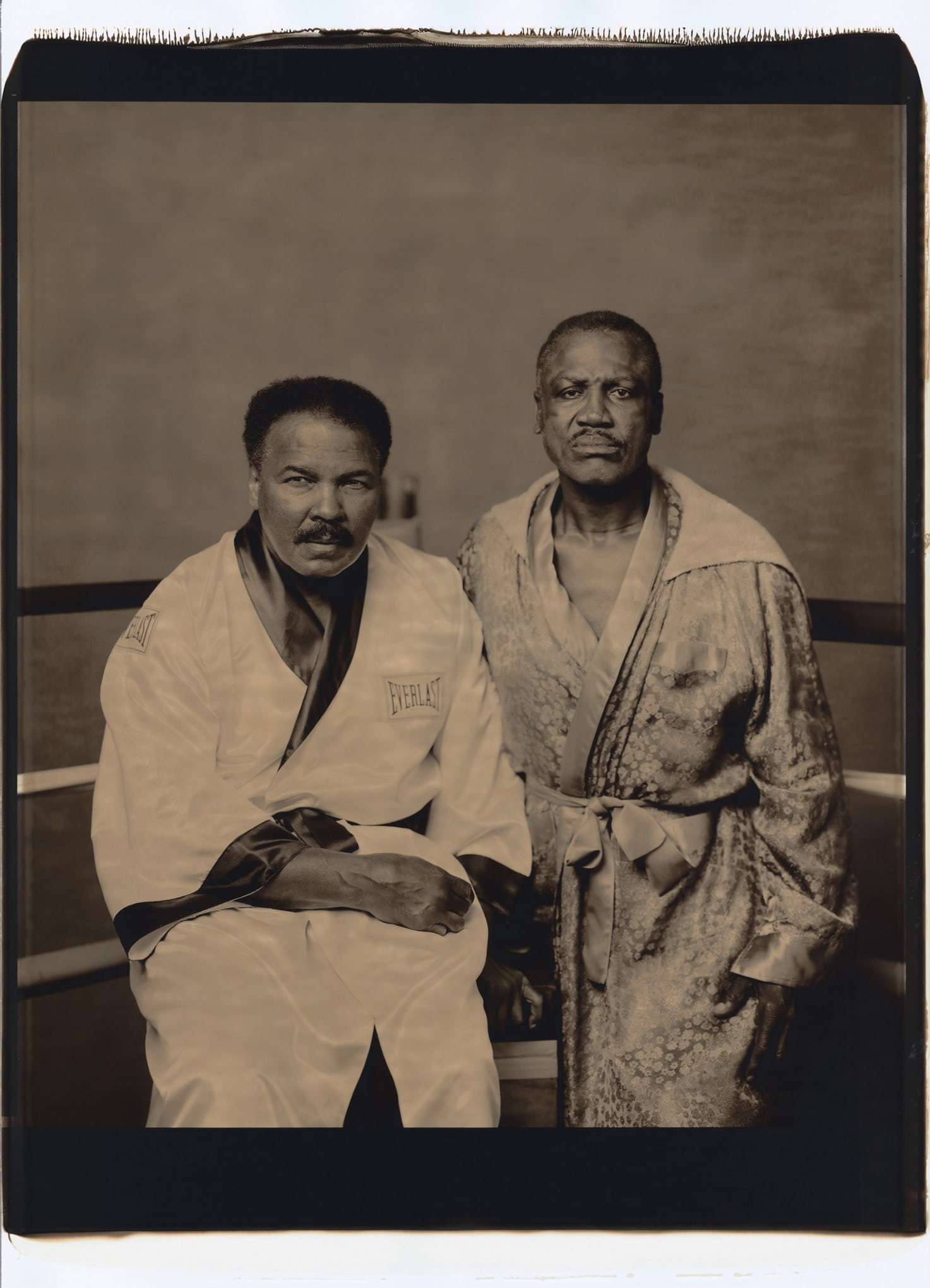 Ali a Frazier na snímku z roku 2003.