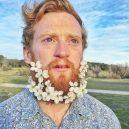 Muži s květinami - flower-beard11galerie11