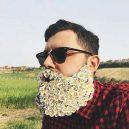 Muži s květinami - flower-beard13galerie13