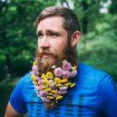 Muži s květinami - flower-beard14galerie14