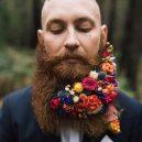 Muži s květinami - flower-beard16galerie16