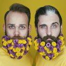 Muži s květinami - flower-beard17