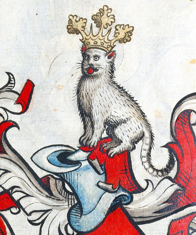 20 středověkých svědectví o divné povaze koček - ugly-cat10