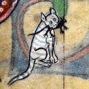 20 středověkých svědectví o divné povaze koček - ugly-cat18