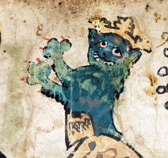 20 středověkých svědectví o divné povaze koček - ugly-cat6