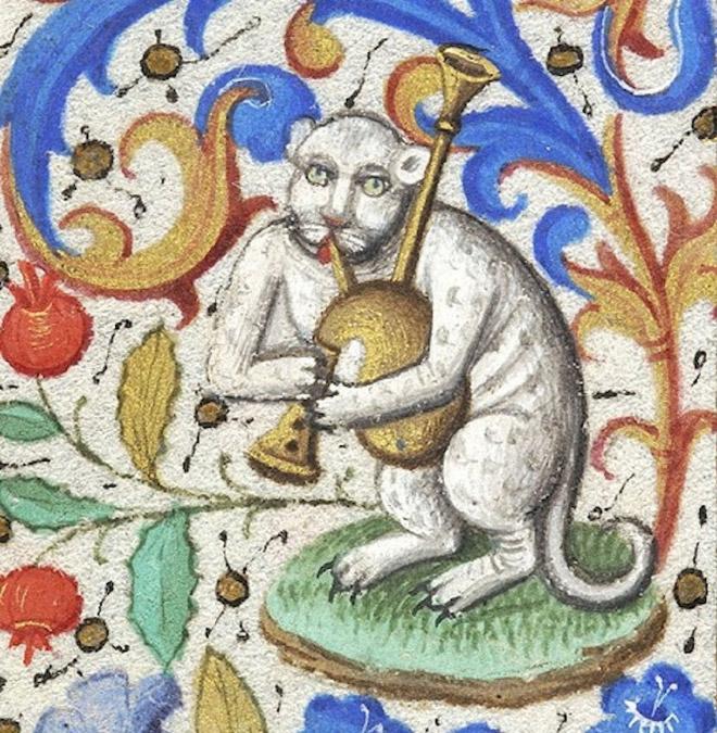 20 středověkých svědectví o divné povaze koček - ugly-cat7