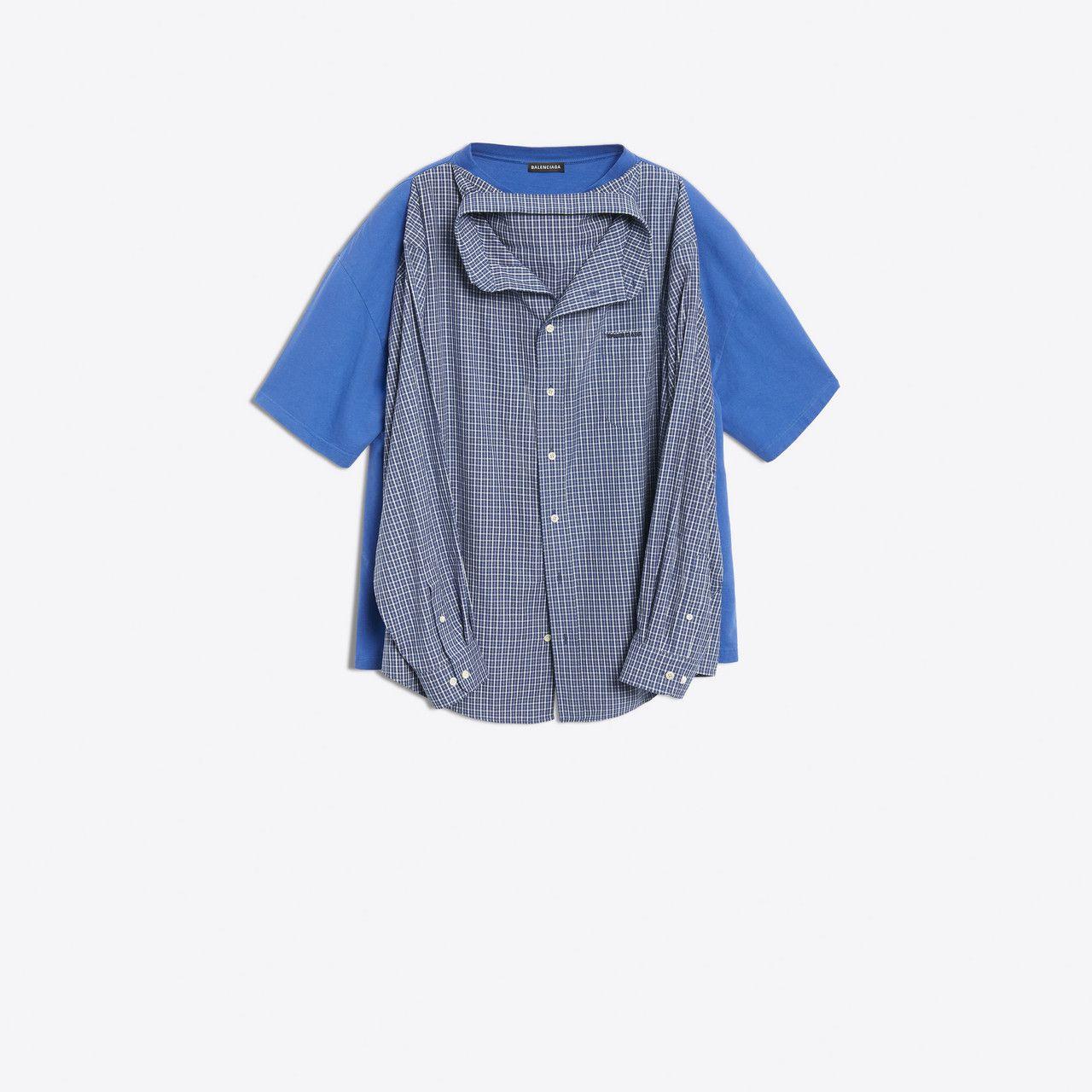 Balenciaga opět nakládá  košile na tričku a tričko na košili za necelých  třicet tisíc fb2f4a8f14