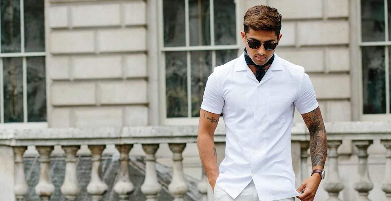 Letní košile s krátkým rukávem vám bude slušet. Vyberte si ale tu pravou! a4df3f83c0