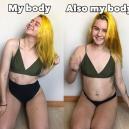 Mladá bloggerka vtipně ukazuje, jak se liší realita od fotografií na Instagramu - 06