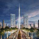 Až tohle uvidíte, možná omdlíte - Model budoucí nejvyšší stavby světa – Creek Tower v Dubaji