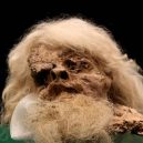 """Starověké """"solné mumie"""": pohleďte do tváře horníkům z dávných dob lidské civilizace - The Saltman at the National Museum of Iran"""