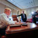 Putinův luxusní letoun se zlatou toaletou předčí i Air Force One? - donald-trump-ve-svem-letounu-air-force-one