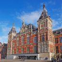 Krásná architektura světových nádraží - amsterdam