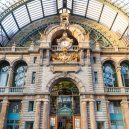 Krásná architektura světových nádraží - antwerpen-centraal-station-belgium