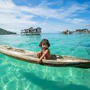 Lidé kmene Bajau žijí v ráji - bajau