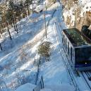 Nejkrásnější výhled je ze sedačky pozemní lanové dráhy - bergen