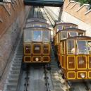 Nejkrásnější výhled je ze sedačky pozemní lanové dráhy - castle-hill-funicular-budapest
