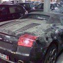 Luxusní vozy pod vrstvou prachu -