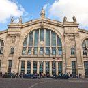 Krásná architektura světových nádraží - gare-du-nord-paris