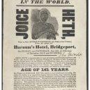 Bizarní hoaxy napříč historií - joice_heth_poster-jpeg