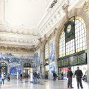 Krásná architektura světových nádraží - sao-bento-station-portugal