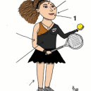 Jak správně nakreslit karikaturu Sereny Williams a nebýt přitom za rasistu? - serena-1