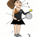 Jak správně nakreslit karikaturu Sereny Williams a nebýt přitom za rasistu? - serena-2