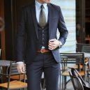 Jak na pásek do obleku? Přesně takhle! -